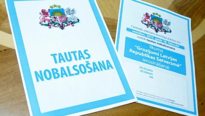 Valdība atvēl 1,713 miljonus latu valodas referenduma rīkošanai