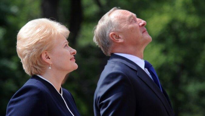 Грибаускайте: Россия предлагает политикам стран Балтии выйти из НАТО