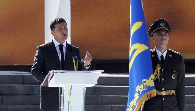 Зеленский сравнил аннексию Крыма и войну в Донбассе с похищением детей