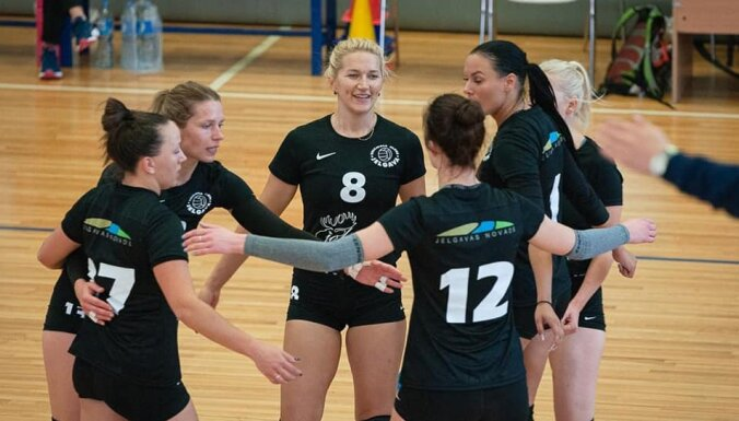 Baltijas līgas sezonu ar divām uzvarām uzsāk 'Jelgavas' volejbolistes
