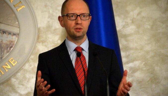 Jaceņuks: Sadarbībā ar Porošenko centīsimies neatkārtot Oranžās revolūcijas kļūdas