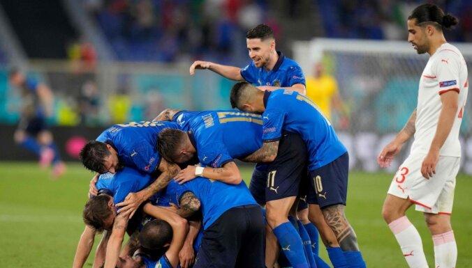 Сборная Италии повторила рекорд чемпионатов Европы по футболу
