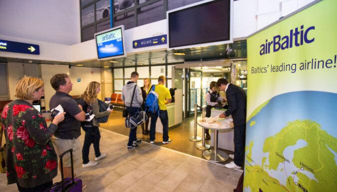 airBaltic открывает пять новых маршрутов из Вильнюса