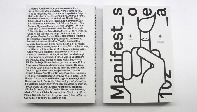 Latviešu valodā iznākusi 20. un 21. gadsimta mākslas manifestu izlase