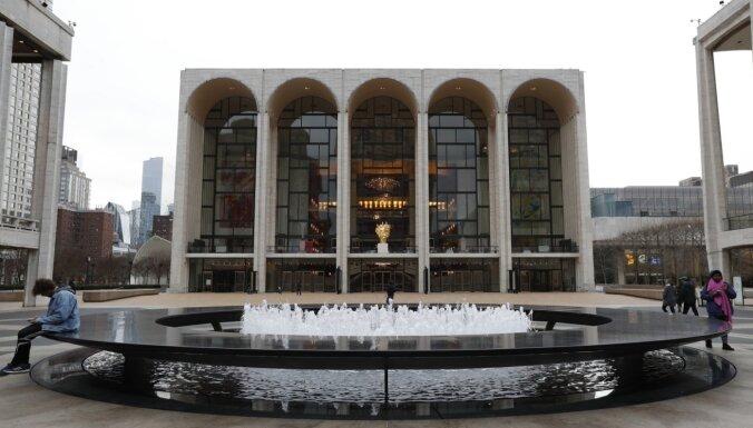 Ņujorkas Metropolitēna opera sāk Vāgnera nedēļu tiešsaistē