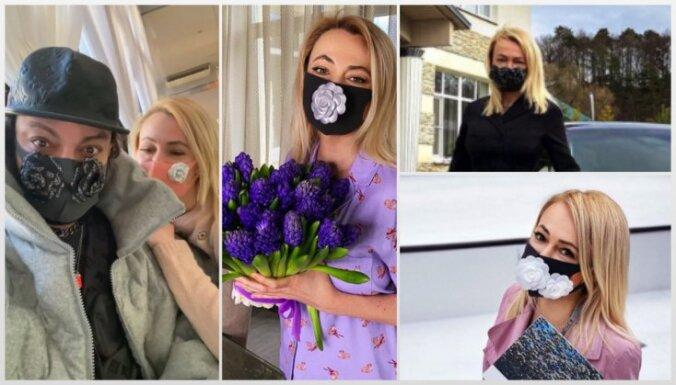 Glamūrs ārkārtas apstākļos: smalkākās sejas maskas Krievijā
