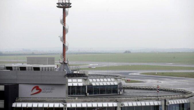 Pirms nosēšanās Briselē divas lidmašīnas saņēmušas sprādziena draudus