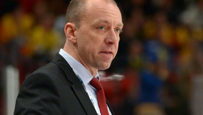 Baltkrievs Skabelka izvēlēts par jauno KHL kluba 'Sibirj' galveno treneri