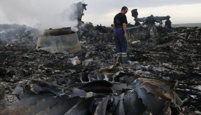 'Malaysia Airlines' lidmašīnas katastrofa varētu novest pie pamiera Ukrainā, uzskata politologs