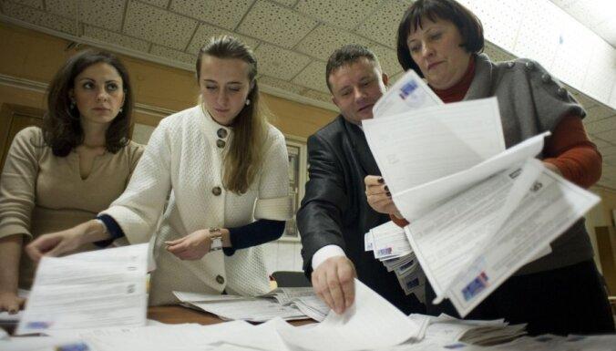 Novērotāju grupa: 'Vienotā Krievija' Valsts domes vēlēšanās ieguva par 20% mazāk balsu nekā oficiāli paziņots