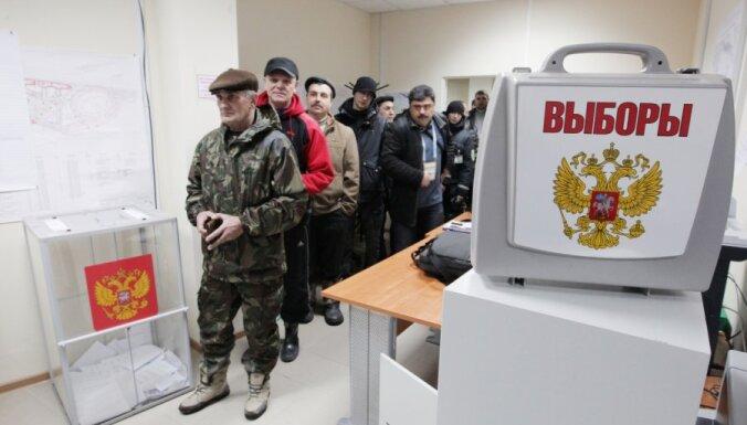 В Латвии голосовали 21 895 граждан РФ, большинство — за Путина