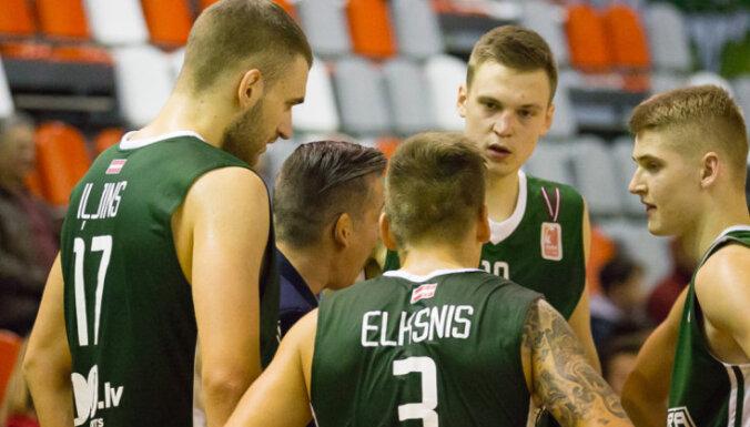'Valmiera'/ORDO basketbolisti tiek pie pirmās uzvaras šīs sezonas BBL turnīrā