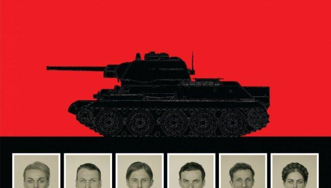 Foto: Dailes teātrī iestudē kara laika traģikomēdiju 'Droši kā tankā'