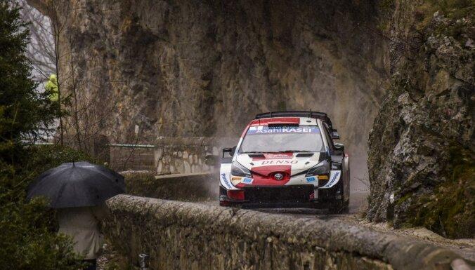 WRC sezona sākas ar Ožjēra astoto uzvaru Montekarlo rallijā