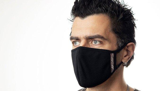 В Латвии производят маски, которые уменьшают количество вирусов группы А на 96%, в течении двух часов