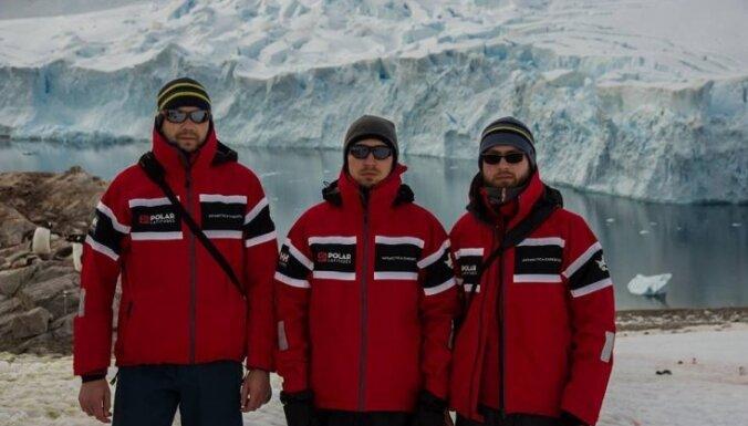 Latvijas polārpētnieki turpina pētniecības darbus Antarktīdā