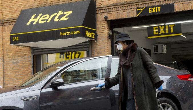 Autonomas uzņēmums 'Hertz' paziņo par bankrotu ASV un Kanādā