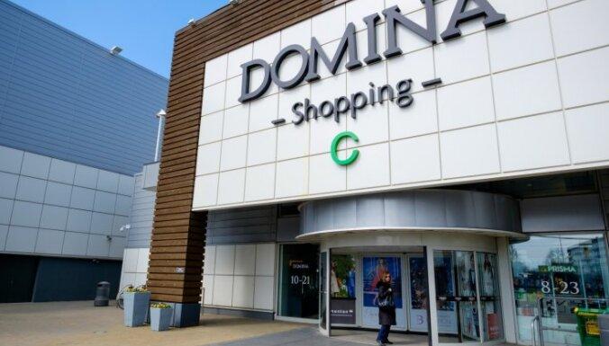 Sakarā ar ļaunprātīgu dedzināšanu līdz sestdienai slēdz tirdzniecības centru 'Domina'