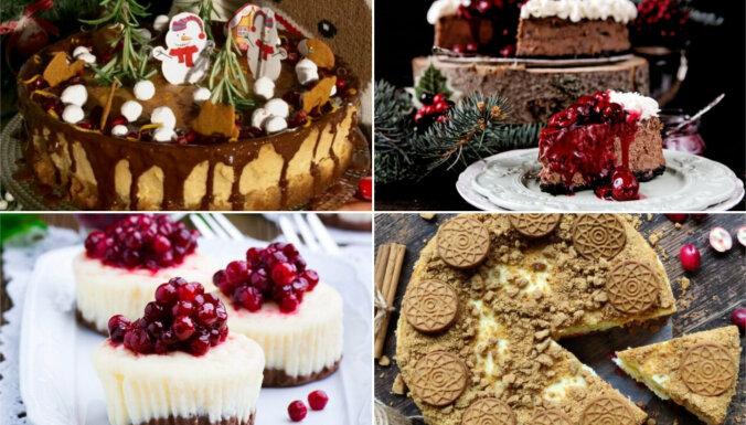 Piparkūku siera kūkas: 7 kārdinošas receptes saldiem svētkiem