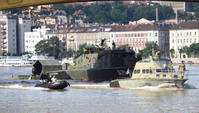 Задержан украинский капитан затонувшего на Дунае в Будапеште судна