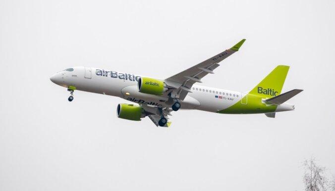 'airBaltic' piektdien izpildīs reisus no Londonas un Maltas