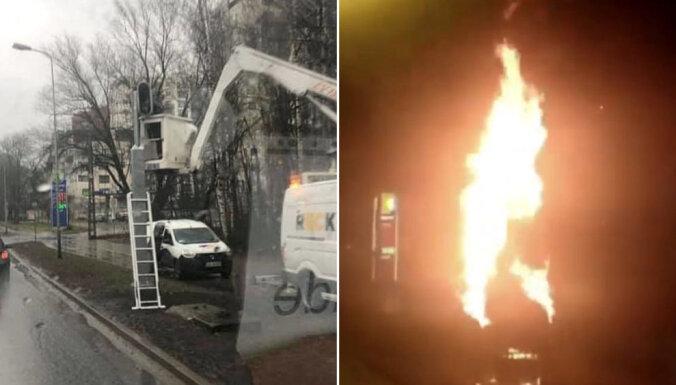 ФОТО: На Югле начал работать сгоревший в прошлом году фоторадар