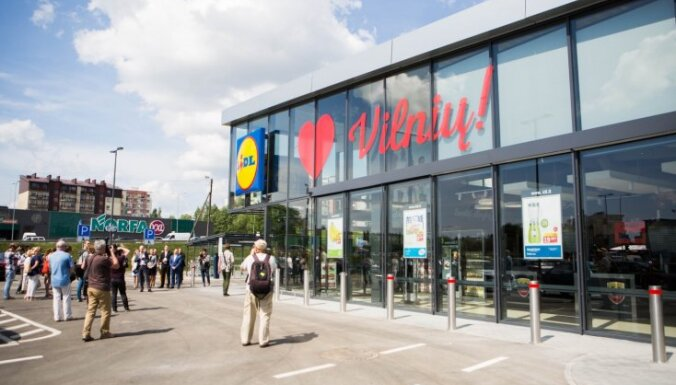Lidl уже открыл в Литве 44 магазина