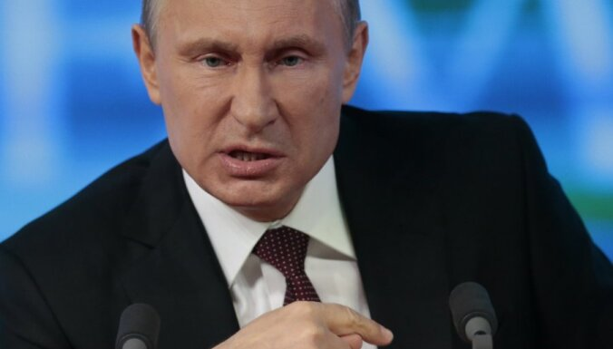 Putins sola cienīt Ukrainas prezidenta vēlēšanu rezultātus