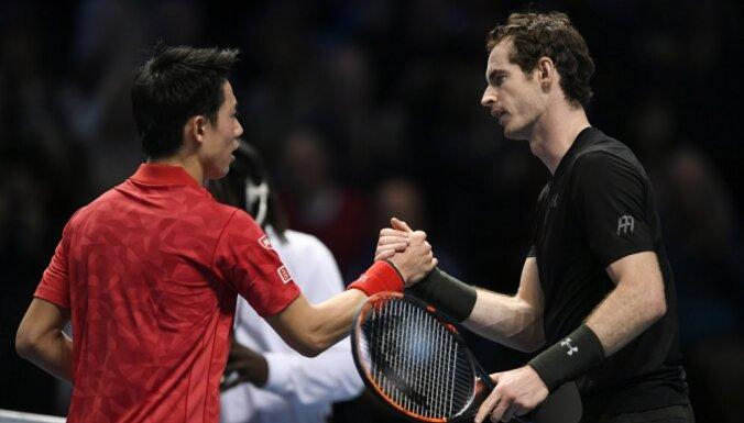 Great Britain Andy Murray, Japan Kei Nishikori