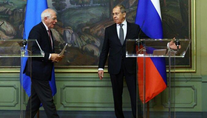 'Eiropas diena': Borela izgāšanās pie Lavrova un ko darīt ar Krieviju?