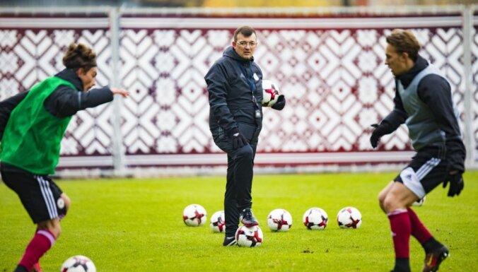 Футболисты молодежной сборной Латвии успешно слетали в Шотландию