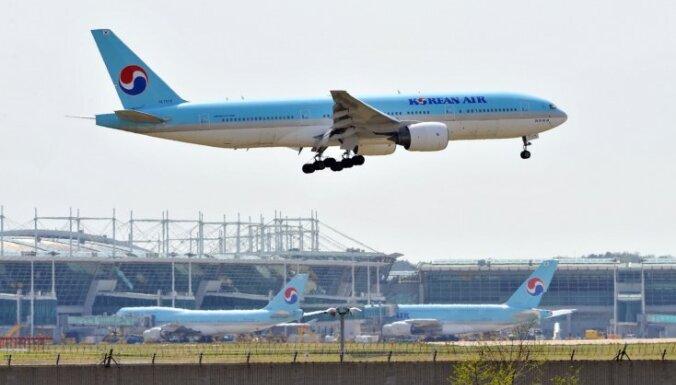 'Korean Air' apstiprina piedāvājuma izteikšanu 'Czech Airlines' akciju iegādei