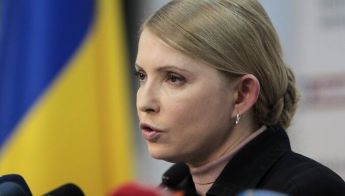 """Тимошенко против строительства """"Стены"""" на границе Украины с Россией"""