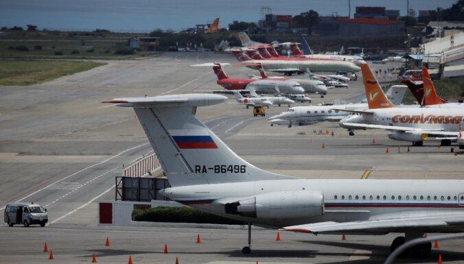Krievija Venecuēlai sūtījusi lidmašīnas ar miljoniem skaidrā naudā