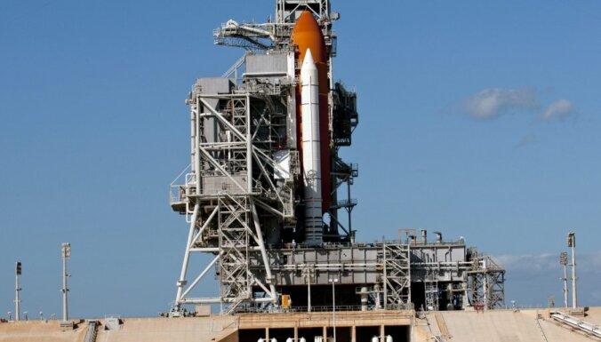 ASV kosmosa kuģis 'Discovery' dodas pēdējā lidojumā