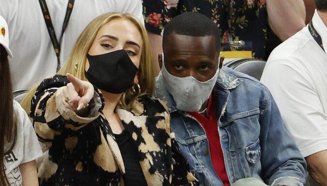 Dziedātāja Adele satiekas ar basketbolista Lebrona Džeimsa aģentu