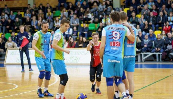 Latvijas klubi nedēļas nogalē uzsāks volejbola sezonu