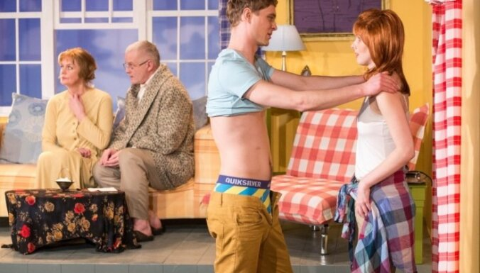 Dailes teātrī pirmizrādi piedzīvos 'Vaņa un Soņa un Maša un Spaiks'