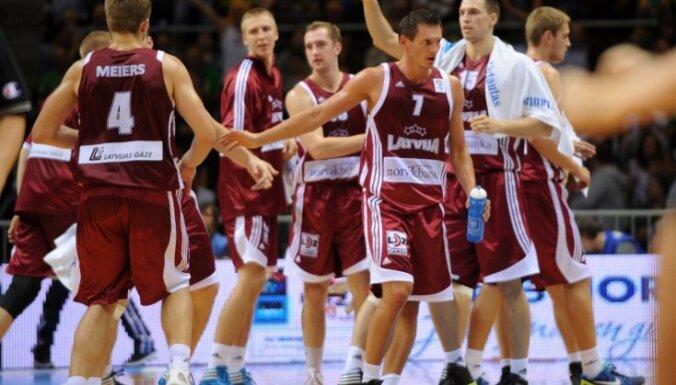 Сборная Латвии потеряла 4 позиции в рейтинге ФИБА