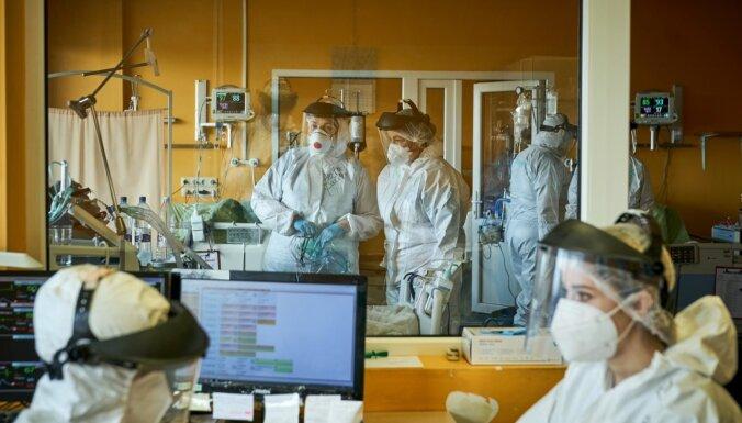 Latvijā kopumā stacionāros ārstējas 641 pacients