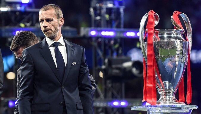 УЕФА может отменить еврокубки из-за пандемии коронавируса