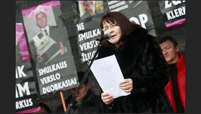 Lietuvas uzņēmēji sākuši badastreiku