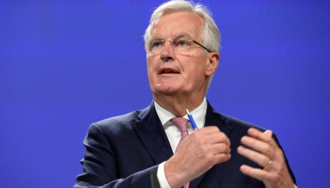 Barnjē brīdinājis par ES un Lielbritānijas tirdzniecības sarunu atlikšanu