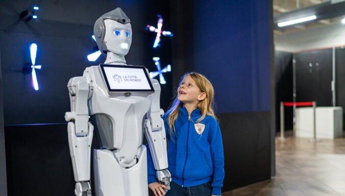 Robotu un jauno tehnoloģiju izstāde 'Robotu pilsēta' – pirmo reizi Jūrmalā