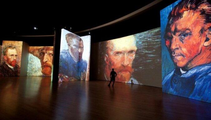Mākslas projekts: 'Dzīvīgās' van Goga gleznas