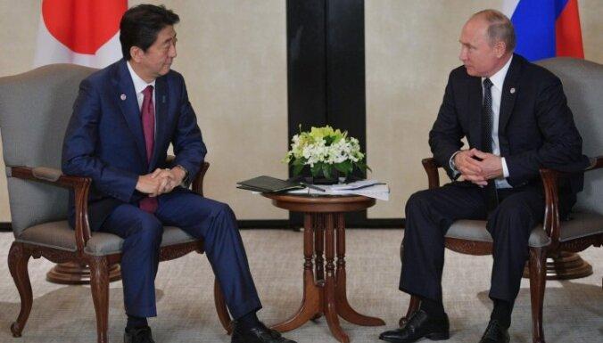 Āris Jansons: Vai Krievija atdos kaut pēdu Japānas zemes