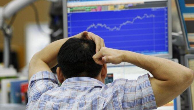 Naftas cenas turpina pieaugt; biržu indeksi palielinās ASV un lielākajā daļā Eiropas