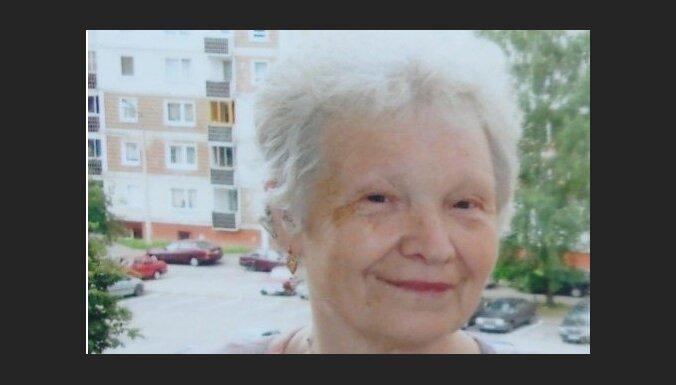 Tuvinieki lūdz palīdzību Rīgā pazudušas sirmgalves meklēšanā
