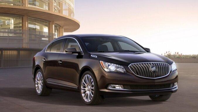 'Buick' modernizējis savu 'Opel Insignia' variāciju