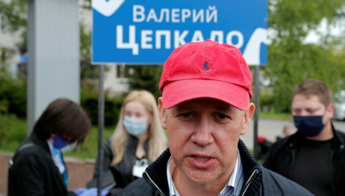 Белорусский оппозиционер Цепкало встретился с главой МИД Польши